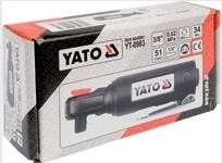 YATO YT-0983 نیومیٹک ٹولز ایئر امپیکٹ رچٹ رنچ کمپوزٹ ایئر رنچ ائیر ریکچ 3/8