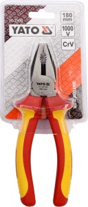 YATO YT-21152 الأدوات المعزولة كماشة الجمع المعزولة 7 '' 180 مم