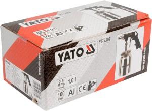 YATO YT-2376 کپ کے ساتھ ایئر سینڈ بلیسٹر گن