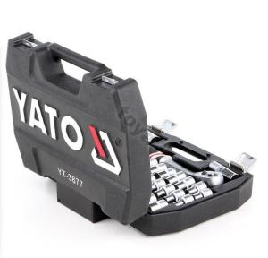 ياتو YT-3877 أدوات يدوية احترافية لإصلاح السيارات الثقيلة طقم ربط جورب 1/2