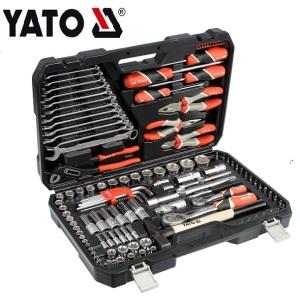 YATO YT-38901 HANDWERKZEUGE STECKSCHLÜSSEL WERKZEUGSET ENGINEER AUTO WARTUNG UMFASSENDES SET STECKSCHLÜSSELSET 1/4