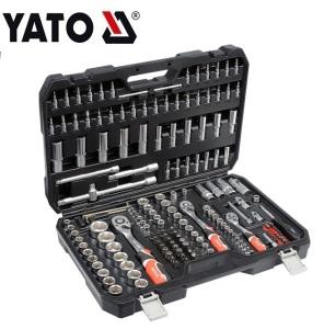 YATO YT-38931 HAND TOOLS SOCKET SET ENGINEER AUTO MAINTENANCE COMPREHENSIVE SET SOCKET SET 1/4