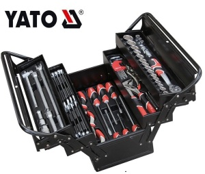 YATO YT-38950 PROFESSIONAL HOT SELLING COMPLETE TOOL BOX SET TOOL BOX WITH TOOLS 64PCS