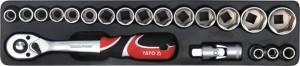 YATO YT-38950 پیشہ ورانہ گرم ، شہوت انگیز فروخت ٹول باکس ٹول باکس ٹولس 64PCS کے ساتھ مکمل کریں