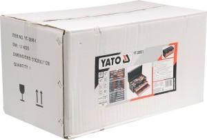 YATO YT-38951 PROFESSIONELE HET VERKOOP VOLLEDIGE GEREEDSKAPSET 81 STK GEREEDSKAPSSET