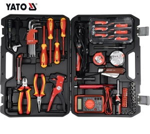 YATO YT-39009 HAND TOOLS PROFESSION CAR REPAIRS HEAVY DUTY SOCKET WRENCH SET INDUSTRIAL HAND TOOL 68PCS ELECTRICIAN SET